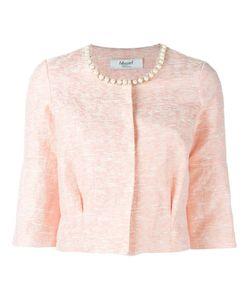 Blugirl | Embellished Collar Cropped Jacket