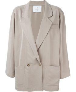 Carolina Ritzler | Double Breasted Oversized Jacket