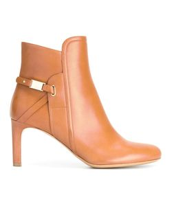 Salvatore Ferragamo | Elio Ornament Booties 8
