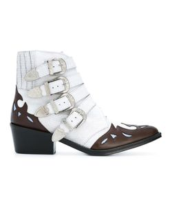 Toga Pulla   Ankle Height Buckle Boots 38