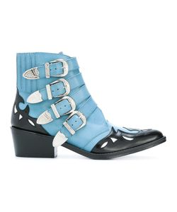 Toga Pulla   Ankle Height Buckle Boots 37