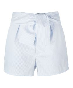 Carolinaritz | Pinstriped Tie Waist Short Shorts
