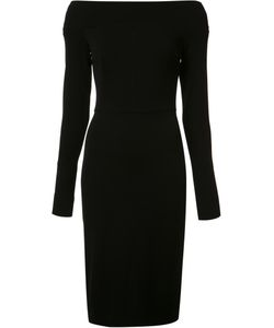 Narciso Rodriguez | Off-Shoulders Fitted Dress 42