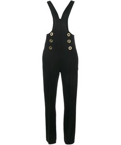 Chloé | Dungaree Jumpsuit 36 Virgin Wool/Cotton
