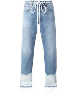 Off-White | Bleached Hem Jeans 31 Cotton/Polyester