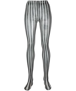 Dolce & Gabbana | Striped Tights Small Polyamide