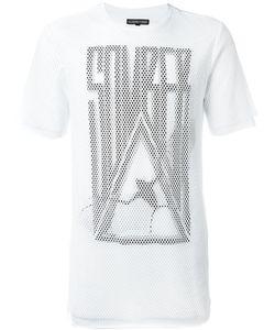 Alexandre Plokhov | Overlay Mesh Somber Logo T-Shirt