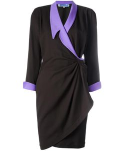 Thierry Mugler Vintage | Gathered Wrap Dress