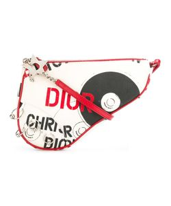 Christian Dior Vintage | Pierced Saddle Bag