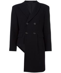 Yohji Yamamoto Vintage | Asymmetric Double Breasted Coat Women Small