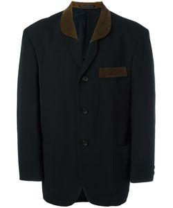 Yohji Yamamoto Vintage | Corduroy Detail Jacket Medium