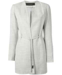 Jean Louis Scherrer Vintage | Collarless Blazer Jacket