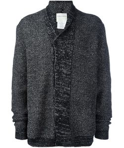 Stephan Schneider | Off-Centre Fastening Cardigan Large Wool/Cotton