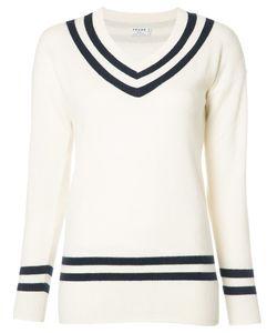 Frame Denim | V-Neck Jumper Medium Cashmere/Wool