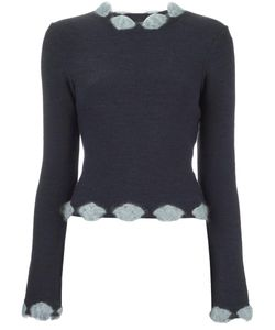 Christian Dior Vintage | Embellished Trim Jumper 40
