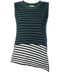 Christian Wijnants | Kaife Striped Tank Xs Polyester/Viscose/Virgin Wool