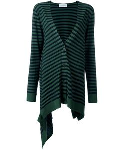 Christian Wijnants | Krista Striped Cardigan Medium Polyester/Viscose/Virgin Wool