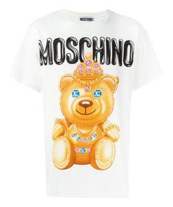 Moschino | Bear Print T-Shirt Large Cotton