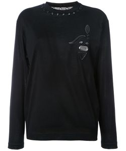 Toga | Eyelet Detail T-Shirt 36 Cotton