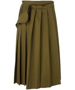 Yohji Yamamoto Vintage | Pleated Midi Skirt 2