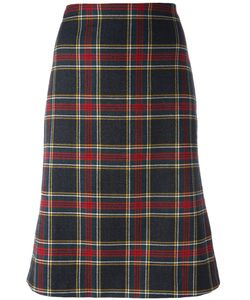 Moschino Vintage | Tartan Skirt 36.5