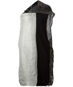 Tvscia | One-Shoulder Panelled Dress