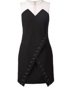 Marios Schwab | Embellished Wrap Front Dress