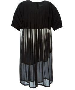 Lutz Huelle | Sheer Pleated Dress
