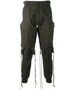Juun.J   Lace-Up Detail Sweatpants Size 48