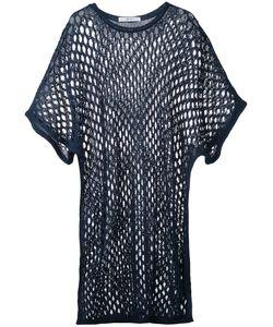 Julien David | Long Open Knit Top