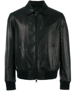 Neil Barrett | Lightning Bolt Leather Jacket Medium
