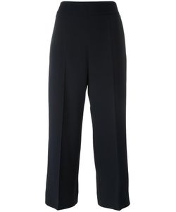 'S Max Mara | Straight Cropped Trousers 34 Spandex/Elastane/Acetate/Viscose