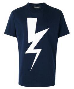 Neil Barrett | Lightning Print T-Shirt Xl Cotton