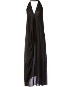 Lost And Found   Draped Halter Neck Dress