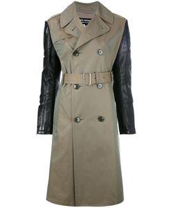 Junya Watanabe Comme Des Garçons   Contrast Sleeve Trench Coat