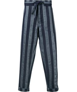 Andrea Pompilio | Striped Baggy Trousers Men