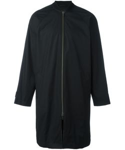 Ann Demeulemeester Grise | Bomber Style Mid Raincoat Small