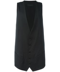 Ann Demeulemeester Grise | Elongated Waistcoat Large