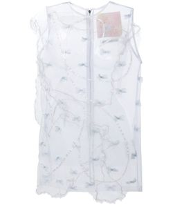 Mikio Sakabe | Embellished Sheer Dress
