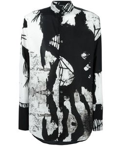 Ann Demeulemeester Blanche | Printed Shirt Medium Cotton