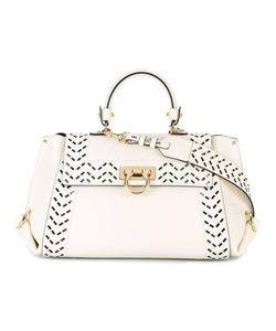 Salvatore Ferragamo | Sofia Internal Clutch Tote Calf Leather/Meadowfoam Seed
