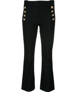 Derek Lam 10 Crosby | Buttoned High-Waisted Trousers Size 4