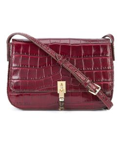 Elizabeth And James | Crocodile-Embossed Satchel