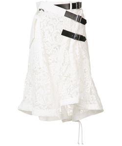 Sacai | Lace Embroidered Skirt 1