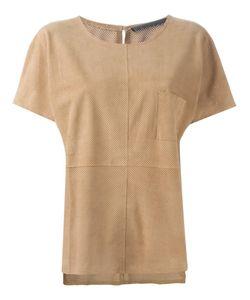 Anne Vest | Tia Perforated T-Shirt 42 Lamb Skin