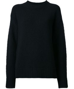 Marc Jacobs | Mock Neck Knitted Jumper Small Cashmere/Wool
