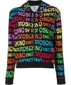 Moschino | Logo Print Hoodie Xl Cotton