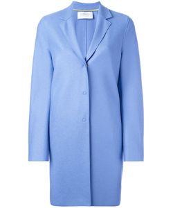 Harris Wharf London   Single Breasted Coat 48 Virgin