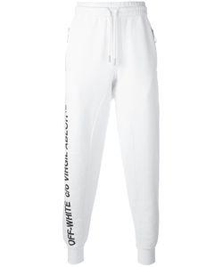 Off-White | Zip Pocket Track Pants Medium