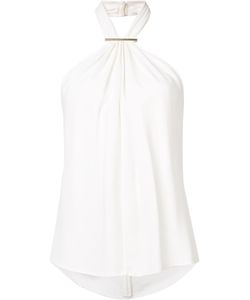 Jason Wu | Halterneck Top Large Viscose